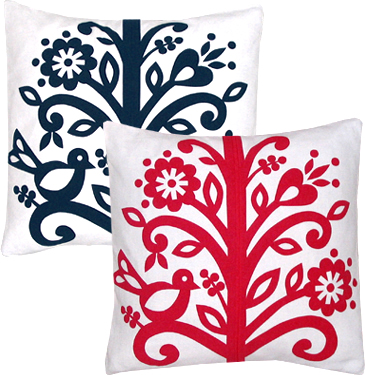 beanstalk pillow cover