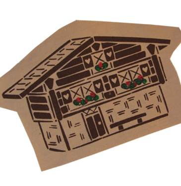 chalet applique