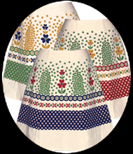 polish pottery skirt