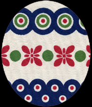 polish pottery detail