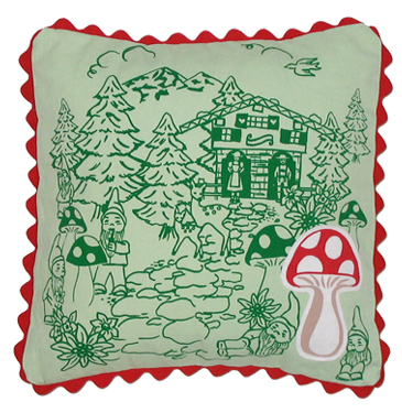 schwarzwalder pillow cover