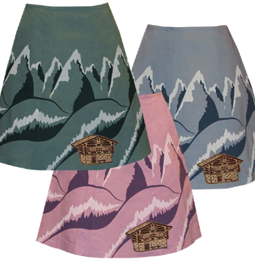 snowcapped skirt