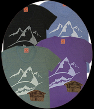 snowcapped tee