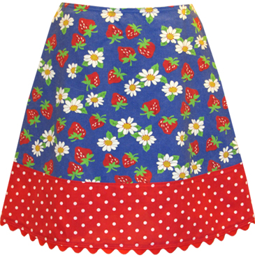strawberry field skirt