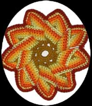 sunflower potholder