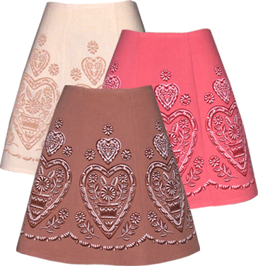 swiss chocolate skirt